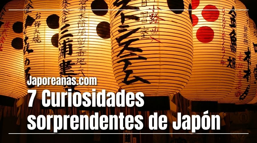 7 Cosas sorprendentes de Japón