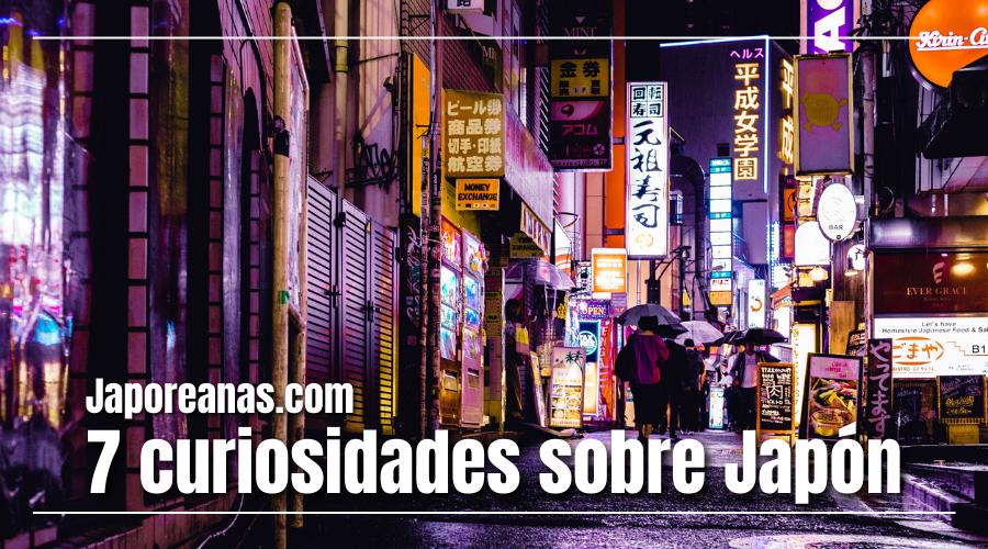 7 Curiosidades sobre Japón