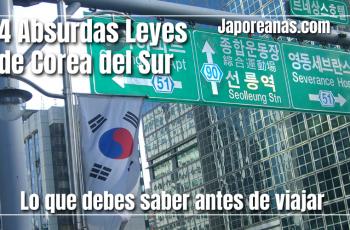 4 leyes absurdas de Corea del Sur