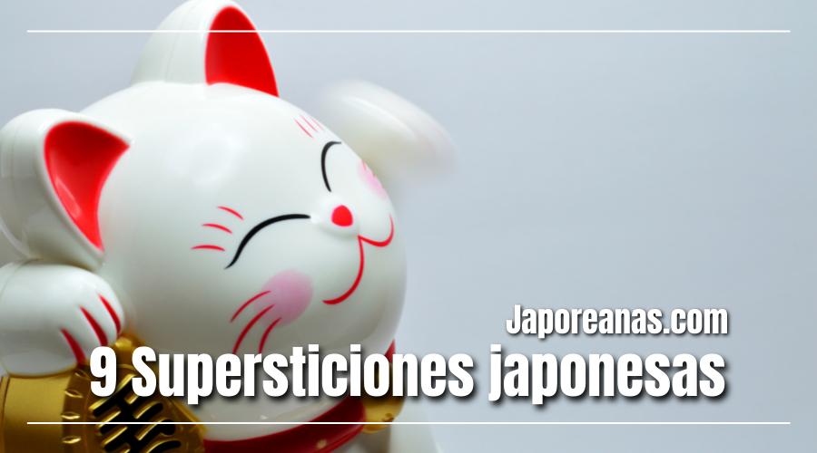 9 Supersticiones japonesas