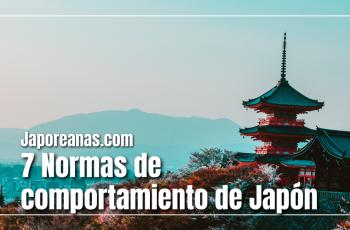 7 Normas de comportamiento de Japón