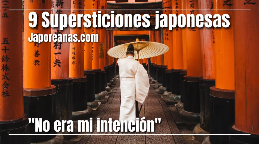 La superstición en Japón
