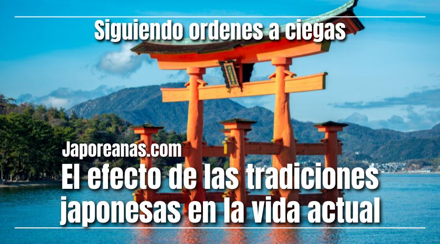 La forma en que las tradiciones afectan la vida actual de Japón