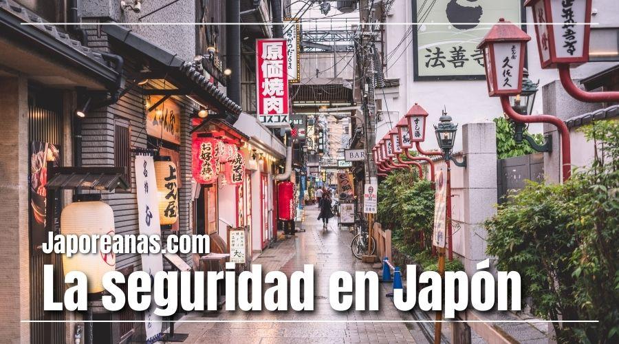 La seguridad en Japón