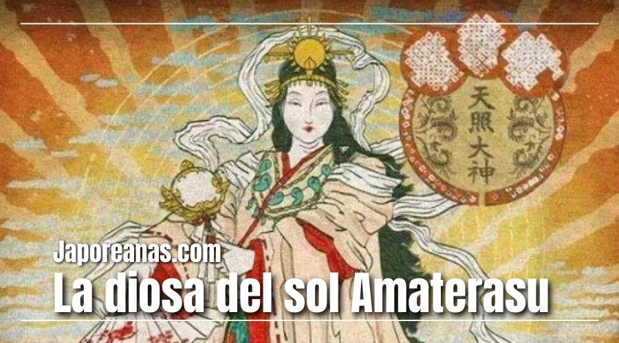 La diosa del sol Amaterasu
