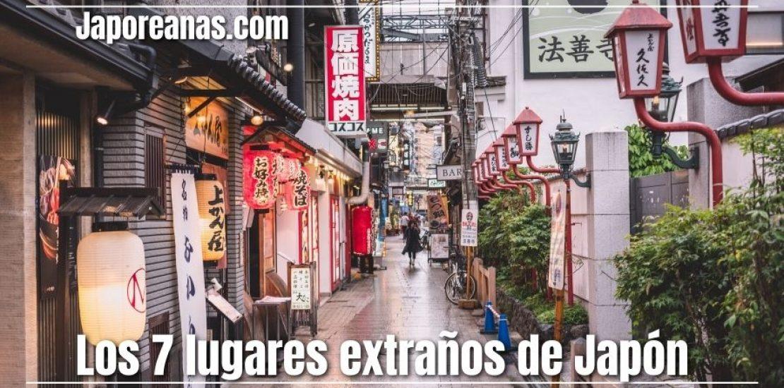 7 lugares extraños de Japón