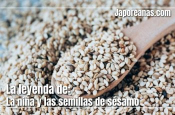 La niña y las semillas de sésamo