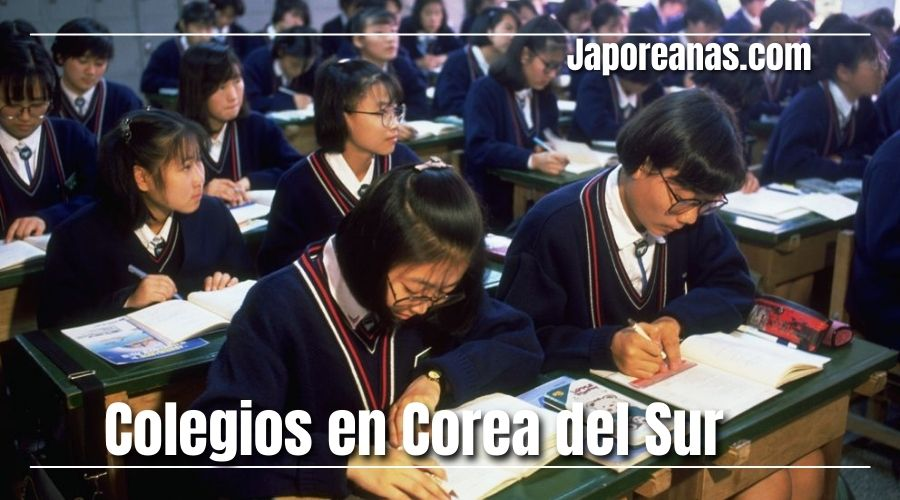 escuelas en corea del sur