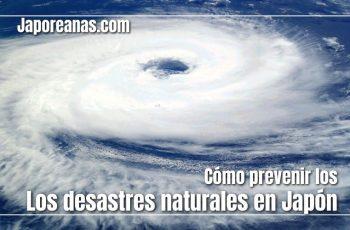 Prevenir los desastres naturales en Japón